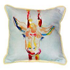 Giraffe Extra Large Zippered Pillow 22X22