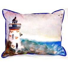 Light House Extra Large Zippered Pillow 20X24