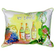 Wine Bottles Extra Large Zippered Pillow 20X24
