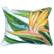Bird Of Paradise Extra Large Zippered Pillow 20X24