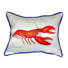 Red Lobster Extra Large Zippered Pillow 20X24