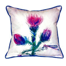 Thistle Extra Large Zippered Pillow 22X22