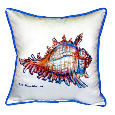 Conch Extra Large Zippered Pillow 22X22