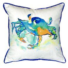 Orange Crab Extra Large Zippered Pillow 22X22