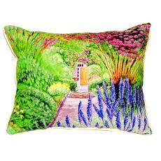 Garden Door Extra Large Zippered Pillow 20X24