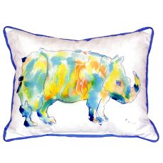 Rhino Extra Large Zippered Pillow 20X24