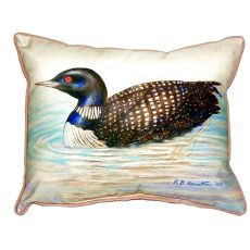 Loon Extra Large Zippered Pillow 20X24