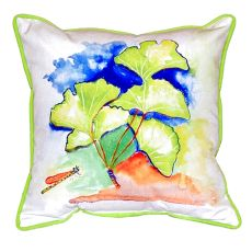 Ginko Leaves Extra Large Zippered Pillow 22X22