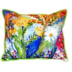 Wild Flower Extra Large Zippered Pillow 20X24