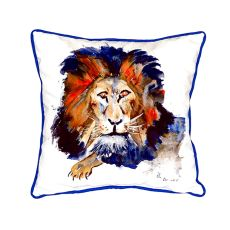 Lion Extra Large Zippered Pillow 22X22