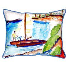 Catamaran Extra Large Zippered Pillow 20X24
