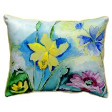 Betsy'S Florals Extra Large Zippered Pillow 20X24