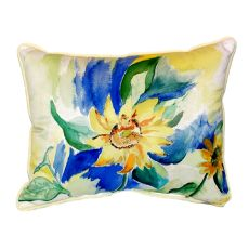 Betsy'S Sunflower Extra Large Zippered Pillow 20X24