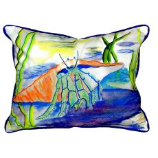 Hermit Crab Extra Large Zippered Pillow 20X24