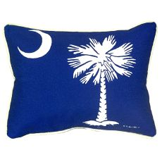 Palmetto Moon Extra Large Zippered Pillow 20X24