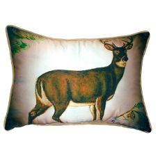 Buck Extra Large Zippered Pillow 20X24