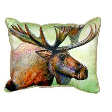 Moose Extra Large Zippered Pillow 20X24