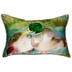 Mallards Extra Large Zippered Pillow 20X24