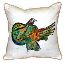 Turkey Extra Large Zippered Pillow 22X22