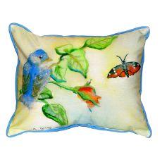 Blue Bird Extra Large Zippered Pillow 20X24