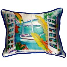 Bay View Extra Large Zippered Pillow 20x24