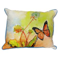 Betsy'S Butterfly Extra Large Zippered Pillow 20X24