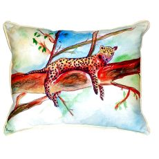 Leopard Extra Large Zippered Pillow 20X24
