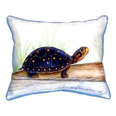Spotted Turtle Extra Large Zippered Pillow 20X24