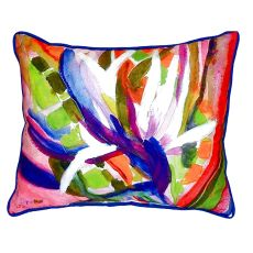 Betsy'S Bird Of Paradise Extra Large Zippered Pillow 20X24