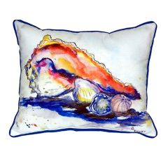 Betsy'S Conch Extra Large Zippered Pillow 20X24