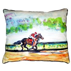 Inside Track Extra Large Zippered Pillow 20X24