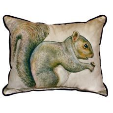 Squirrel Extra Large Zippered Pillow 20X24