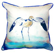 Betsy'S Avocet Extra Large Zippered Pillow 22X22
