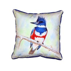 Kingfisher Extra Large Zippered Pillow 22X22