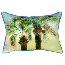 Betsy'S Palms Extra Large Zippered Pillow 20X24