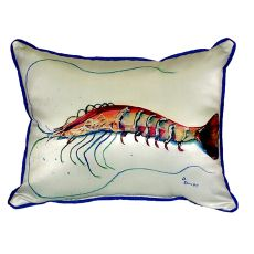 Betsy'S Shrimp Extra Large Zippered Pillow 20X24