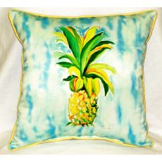 Pineapple Extra Large Zippered Pillow 22X22