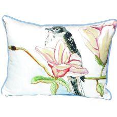 Betsy'S Mockingbird Extra Large Zippered Pillow 20X24