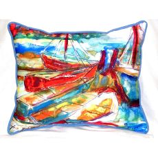 Betsy'S Marina Extra Large Zippered Pillow 20X24