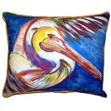 Pelican Wing Extra Large Zippered Pillow 20X24