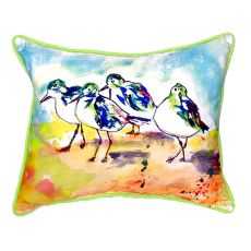 Sanderlings Extra Large Zippered Pillow 20X24