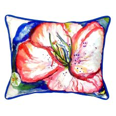 Hibiscus Extra Large Zippered Pillow 20X24