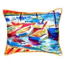 Betsy'S Marina Ii Extra Large Zippered Pillow 20X24