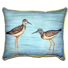 Yellow Legs Extra Large Zippered Pillow 20X24