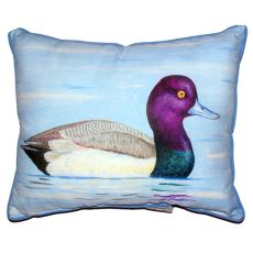 Lesser Scaup Extra Large Zippered Pillow 20X24