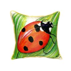Ladybug Extra Large Zippered Pillow 22X22