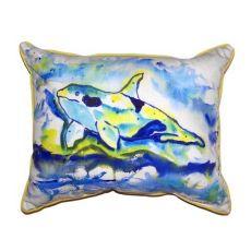 Orca Extra Large Zippered Pillow 20X24