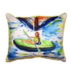 Eva Extra Large Zippered Pillow 20X24
