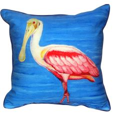 Dick'S Spoonbill Extra Large Zippered Pillow 22X22