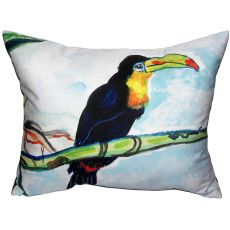 Toucan Extra Large Zippered Pillow 20X24